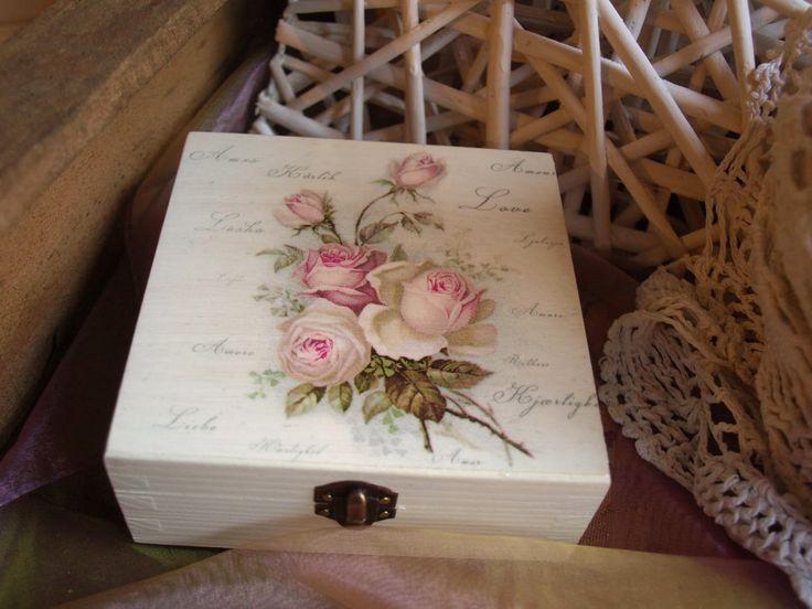 Kapryśne inspiracje: Ach te róże i tabliczki z Eko - Deco.