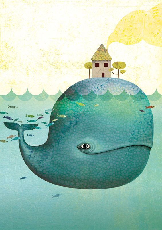 Delightful composition from French illustrator Marie Desbons.