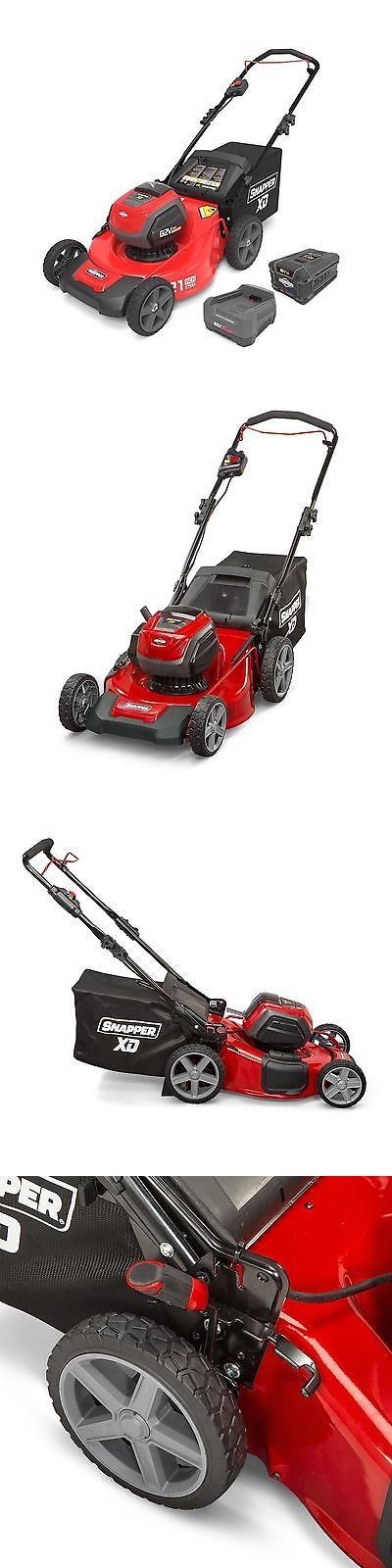 Walk-Behind Mowers 71272: Snapper Xd 82 Volt 21 Inch Cordless Lawn Mower W Battery And Charger | 1687884 -> BUY IT NOW ONLY: $489.99 on eBay!