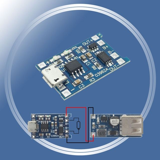 1pcs 5v 1a Micro Usb 18650 Lithium Battery Charging Board Charger Module Protection Dual Functions Tp4056 Tc4056 Tc4056a Review Usb Micro Usb Lithium Battery