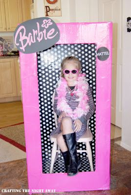 Crafting The Night Away: Barbie Party