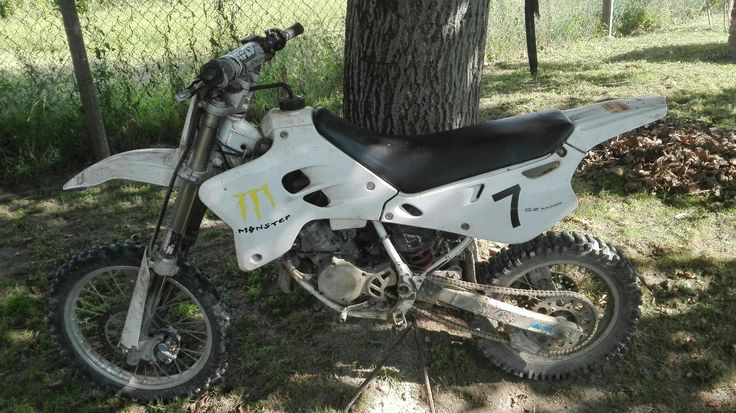 Yamaha YZ.  Braaaaaaap, braaaaap. *.* <3