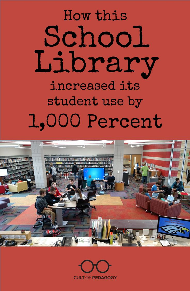 How A School Library Increased Student Use By 1,000 Percent | Cult Of Pedagogy