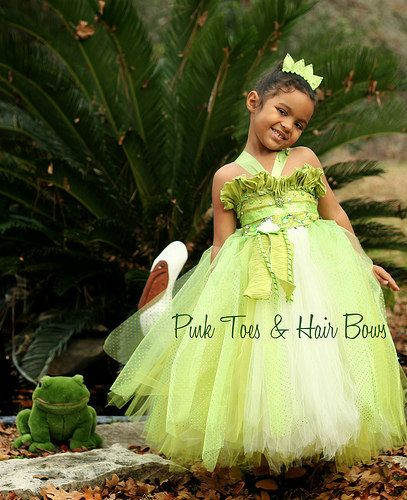 Princess Tiana Dress Princess and the frog by GlitterMeBaby