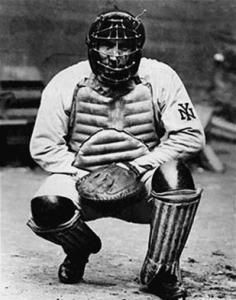 April 11, 1907: Shin guards were worn by a catcher in a baseball game for the first time when  NY Giants catcher Roger Bresnahan wore them in the opening day game against the Phillies.