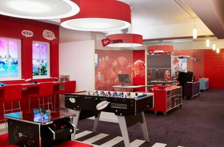 Virgin holidays flagship store by officetwelve london for Retail interior design agency london