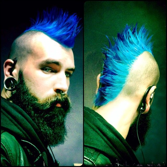 At work... #tockss #man #boy #face #beard #beards #beardlover #beardgang #beardlife #beardcare #beardlifestyle #moustache #stach #mustache #piercing #piercings #gauge #gauges #punk #rock #mohawk #mohican #stretchedears #alt #altmodel #model #hair #bluehair #blue #dyehair  Need to sleep ✖️✖️✖️