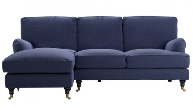 Your very own lie-down-and-let-the-world-go-by version of our popular Bluebell sofa. Just for one. Heavenly comfort. Sigh.
