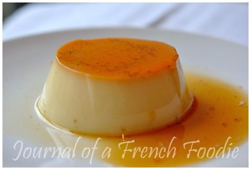 Journal of a French Foodie: Varoma steamed crème caramel