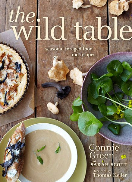 """The Wild Table: Seasonal Foraged Food and Recipes"" features more than 40 wild mushrooms, plants, and berries. Grouped by season, the recipes provide step-by-step cooking techniques, explain how to find and prepare each ingredient, and feature several signature dishes from noted chefs. Check out an excerpt from this book on 9 fundamentals or ""commandments"" of wild food foraging."