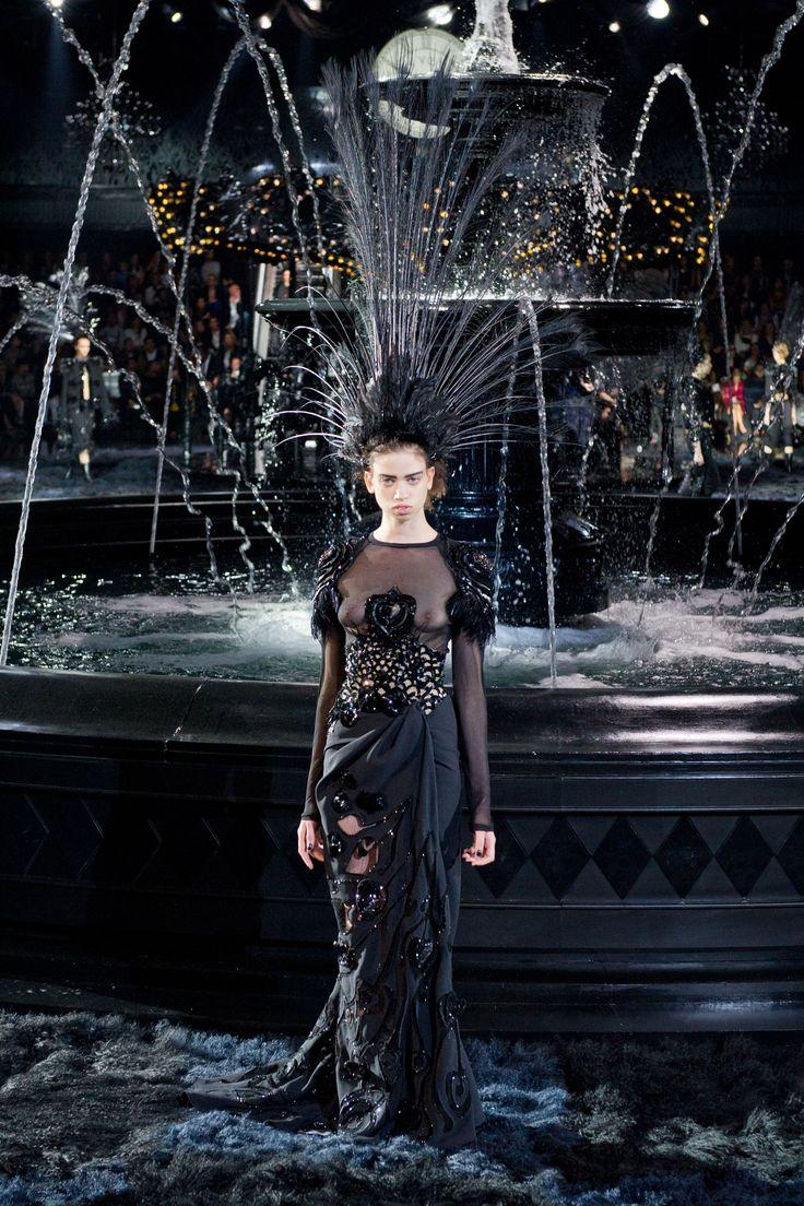 Louis Vuitton wiosna-lato 2014, fot. Imaxtree