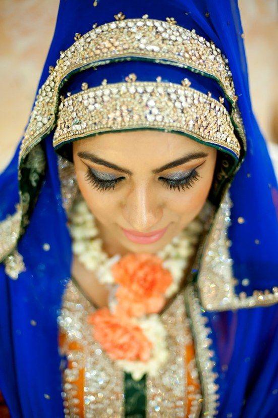 Beautiful Asian Wedding Hijab Styles