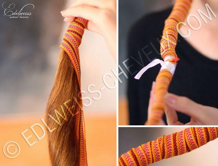 Journal capillaire d'Edelweiss : Kardoune : Lisser ses cheveux sans chaleur et sans casse !