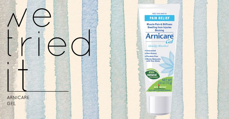 A review of Arnicare Gel, which uses the plant wolf's bane or arnica montana, to heal bruises or sores.