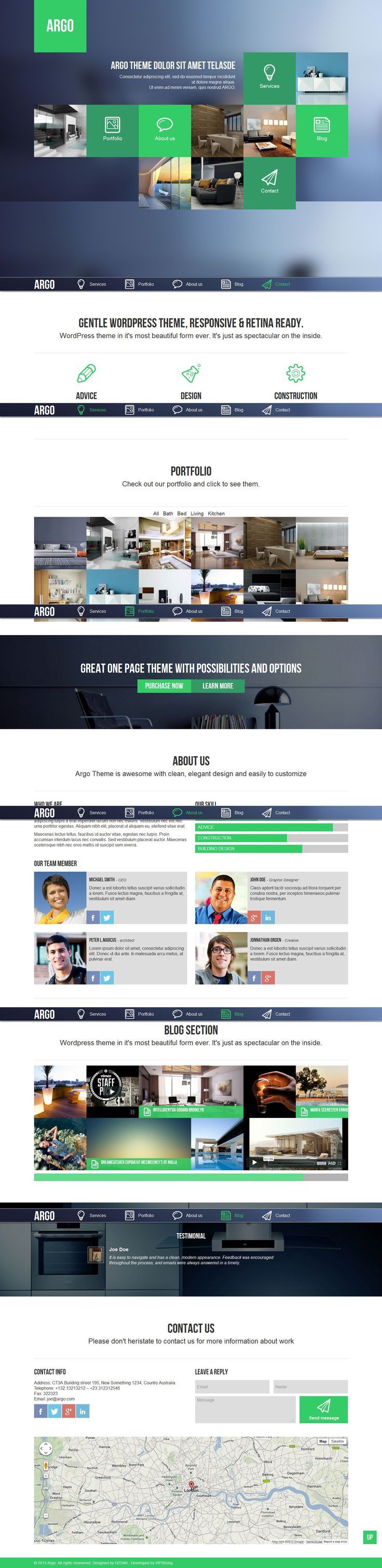 ARGO is a unique and creative WordPress Theme with clean and modern design. It is perfect choice for your corporate agency, creative studio ...