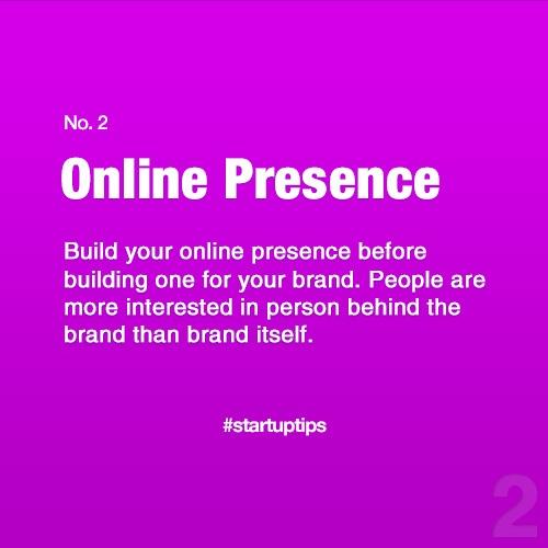 Start-Up Tips no. 2
