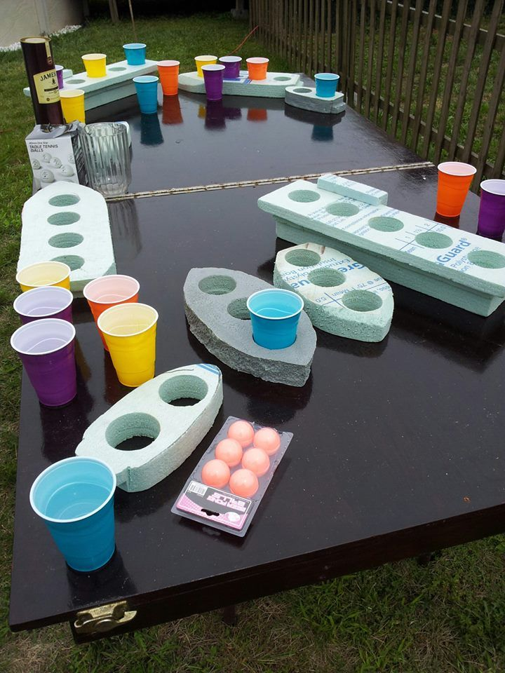 beer pong battleship, oh myyyy. Gotta try this soon!