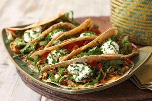 Chicken Tacos with Guajillo Pesto Recipe - Kraft Recipes