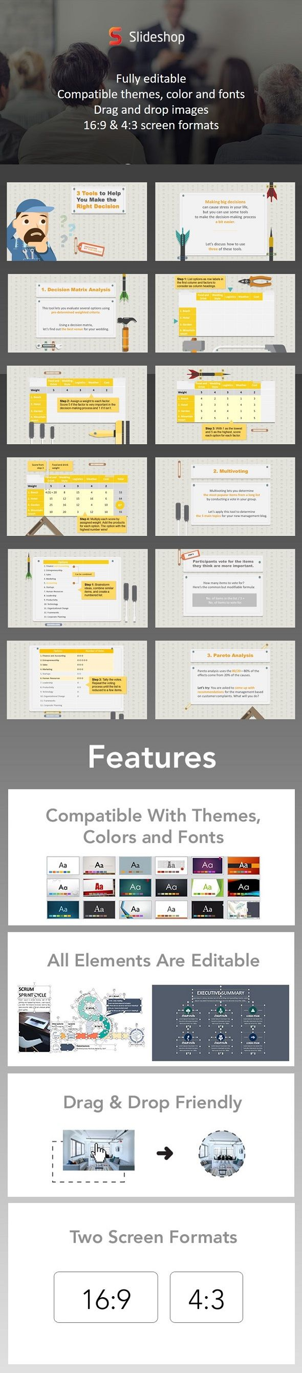 493 best businesses powerpoint presentation images on pinterest 3 tools to help you make the right decision toneelgroepblik Image collections