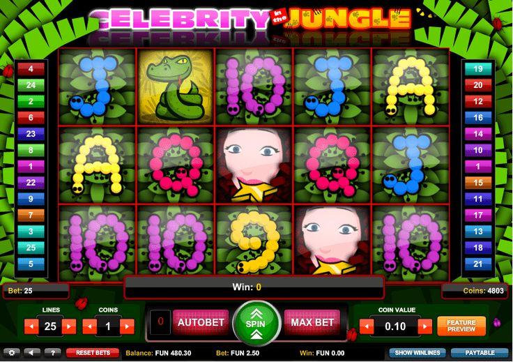 Celebrity Jungle - http://www.automaty-ruleta-zdarma.com/celebrity-jungle/