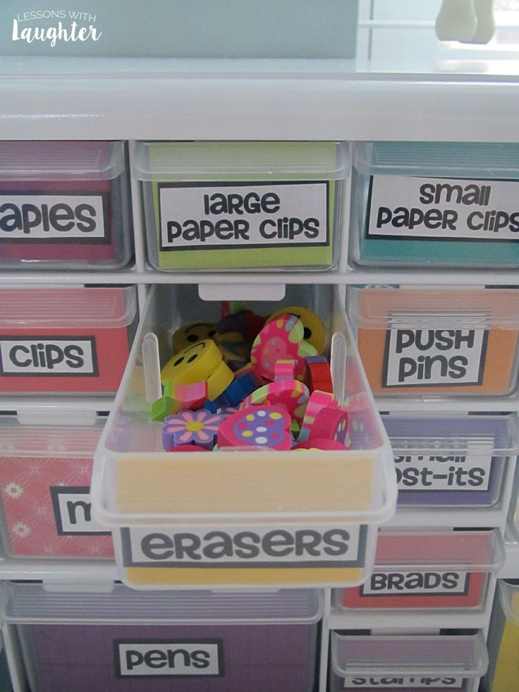 Colorful Toolbox Organizer - Lessons with Laughter