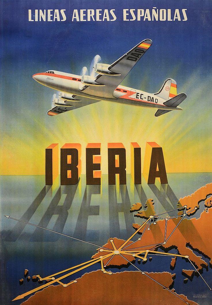 Iberia - Lineas aereas españolas - 1946