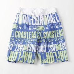 Внешнеторговые большие девственные мальчиков летние пляжные брюки пятый шлифе быстросохнущие шорты дома случайные штаны