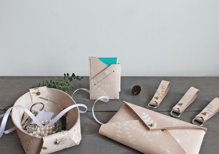 Launching soon - our expanded collection of hand crafted printed leather goods