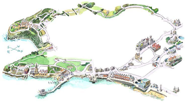 Durlston Head - Illustrator - Tony Kerins