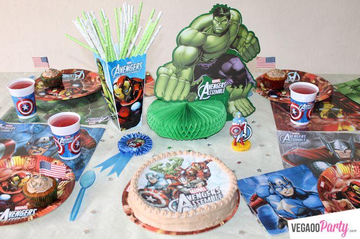 Gâteau d'anniversaire spécial Avengers !