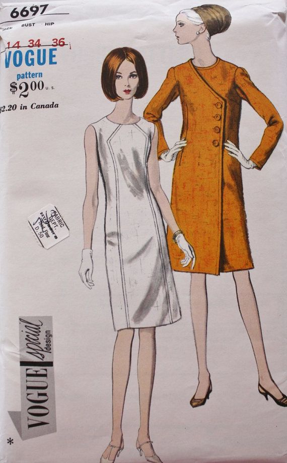 Vintage 60s Vogue Special Design 6697 by BluetreeSewingStudio