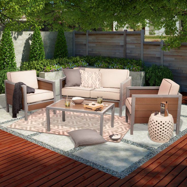 849. On Sale At Target.......... Patio Conversation ...