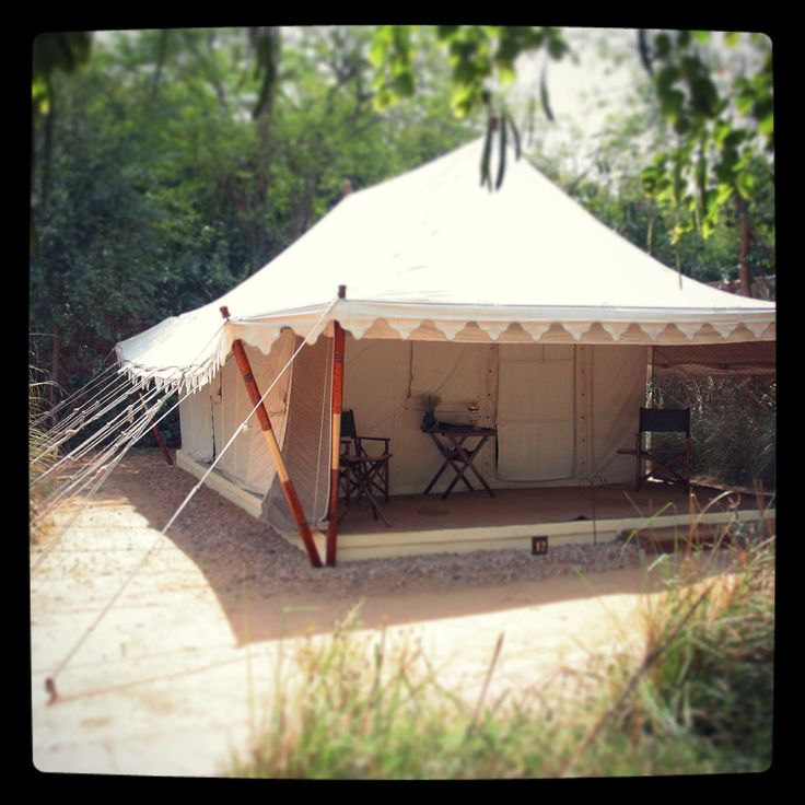 My tent at Sher Bagh