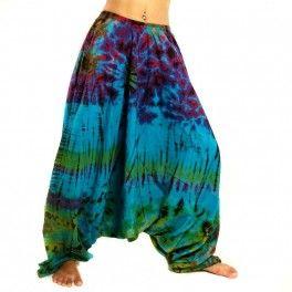 Pantalón de Aladdin batik