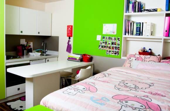 Student Accommodation - Newcastle Rooms Studio Raven1