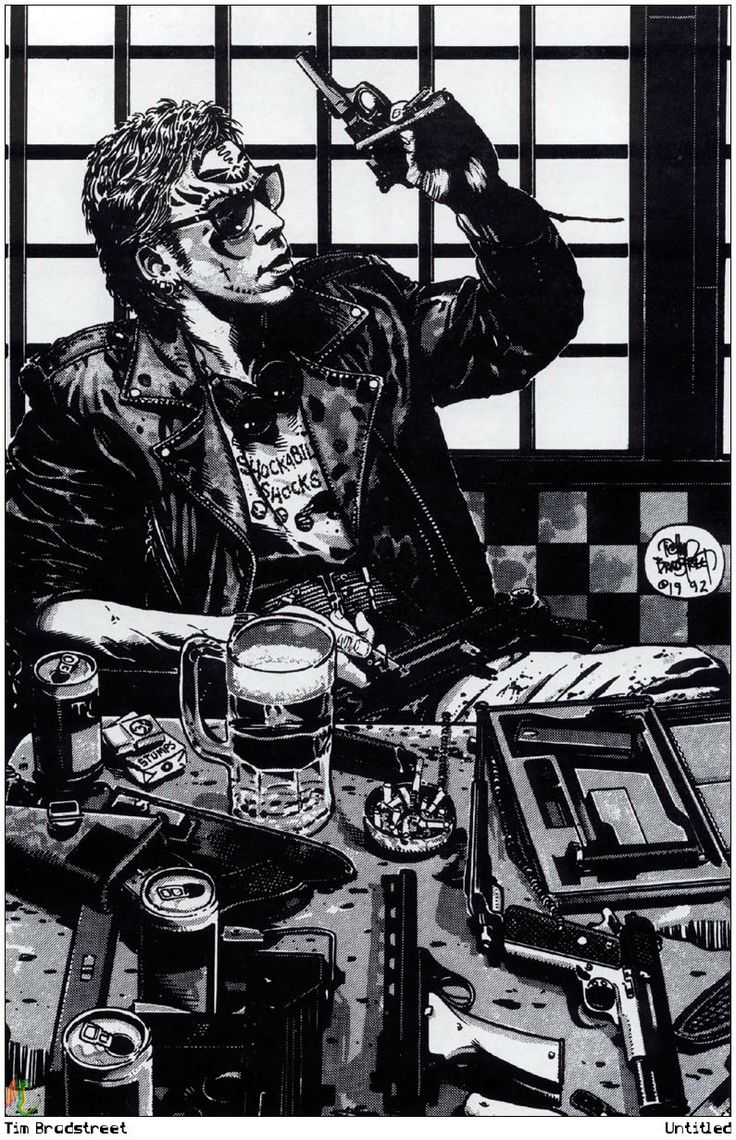 From Maximum Black - ©Tim Bradstreet