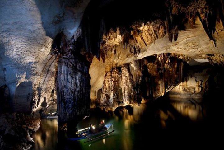 Au Sud Ouest de l'archipel, dans la province de Palawan, on peut tomber sur le parc national de la rivière souterraine de Puerto Princesa.