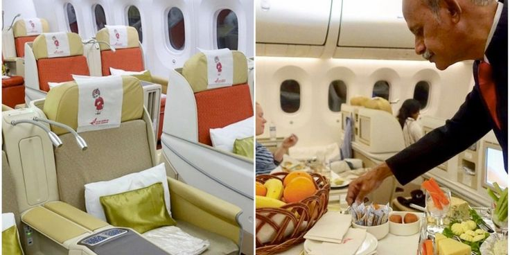 What it's like to fly business class on the Air India 787 Dreamliner - Business Insider
