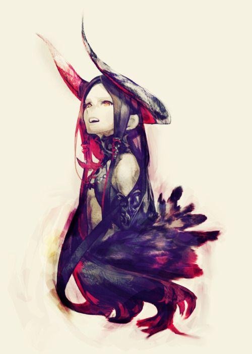 147 best images about d mon anime girl on pinterest horns swords and dark angels - Hot demon women ...