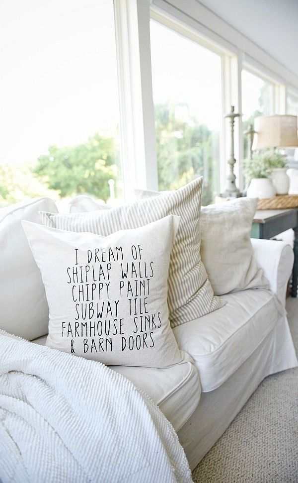 Farmhouse Pillows for the vibe you love.