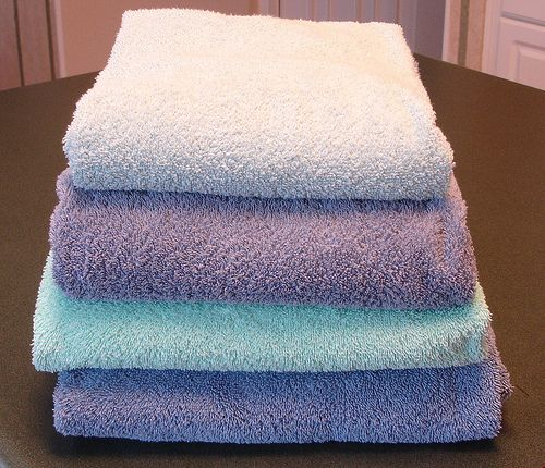 How often should you wash your bathroom towels and rugs for How often to clean bathroom