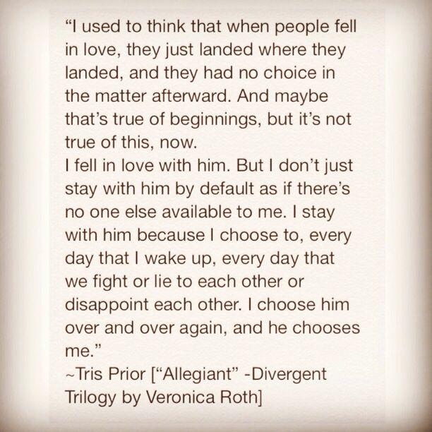 Tobias quotes From Divergent | Divergent Quotes Tobias Tris & tobias! #divergent