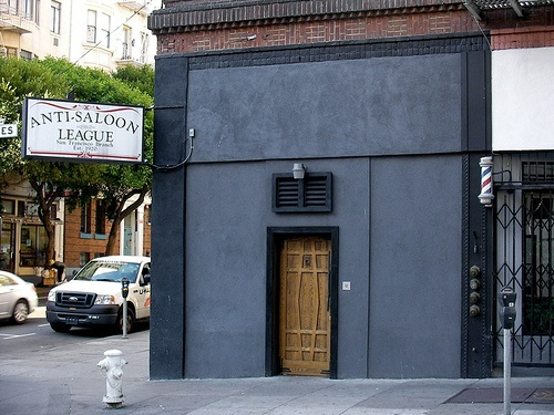 The unassuming outside of Bourbon and Branch. You need a password to get in. #speakeasy #sf #secret