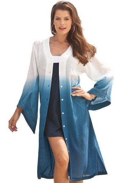 Пляжные платья для полных - новое веяние в пляжной моде