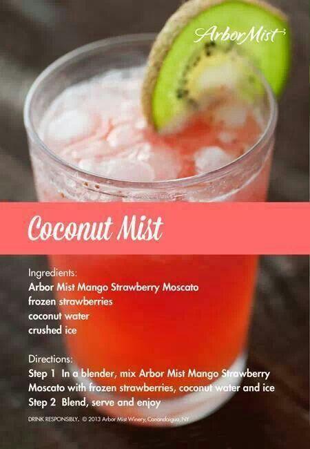 Coconut Mist - Arbor Mist recipe