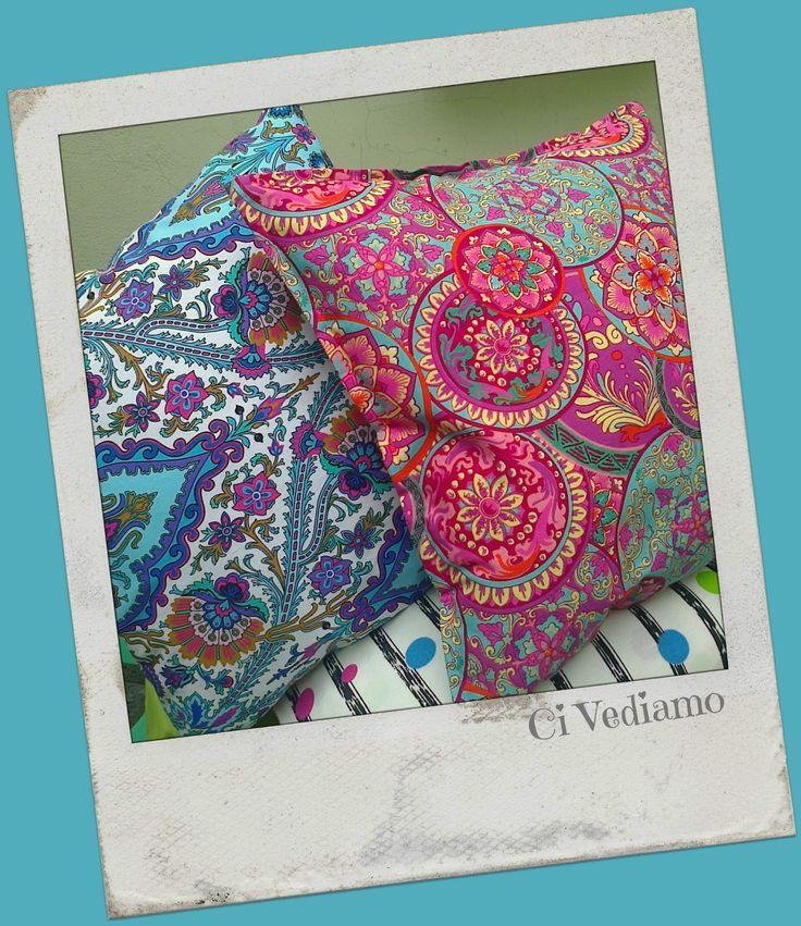"""Almohadones """"Mandalas Multicolores"""""""