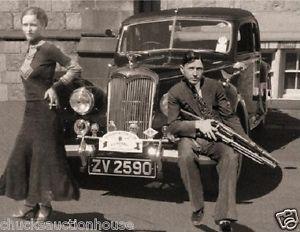 1934 Bonnie and Clyde FBI File copy