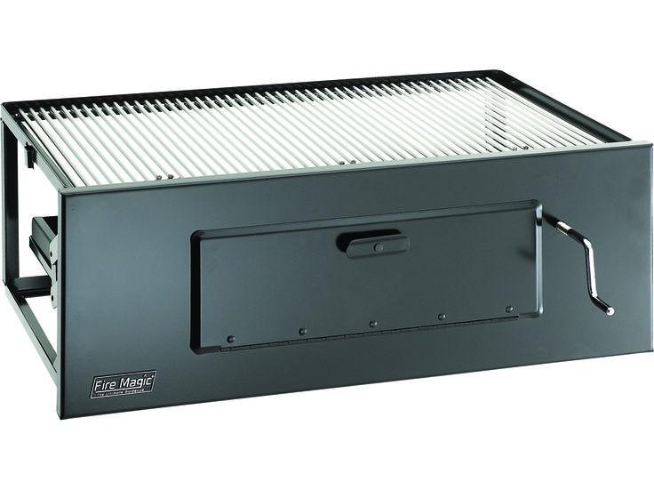 Fire Magic Charcoal Stainless Steel Firemaster 30'' Built-in BBQ Grill   MG3324