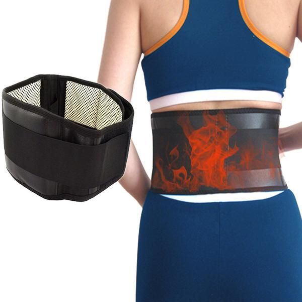 Lumbar Support Belt Tourmaline and Magnetic Therapy S-XL