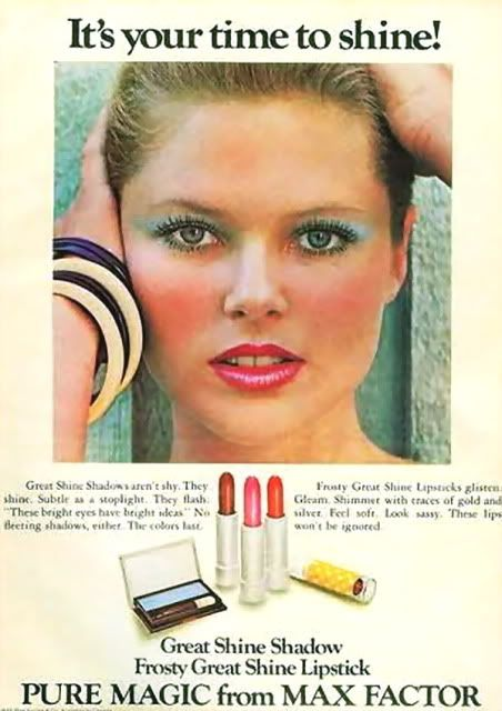 1975 Christie Brinkley for Max Factor